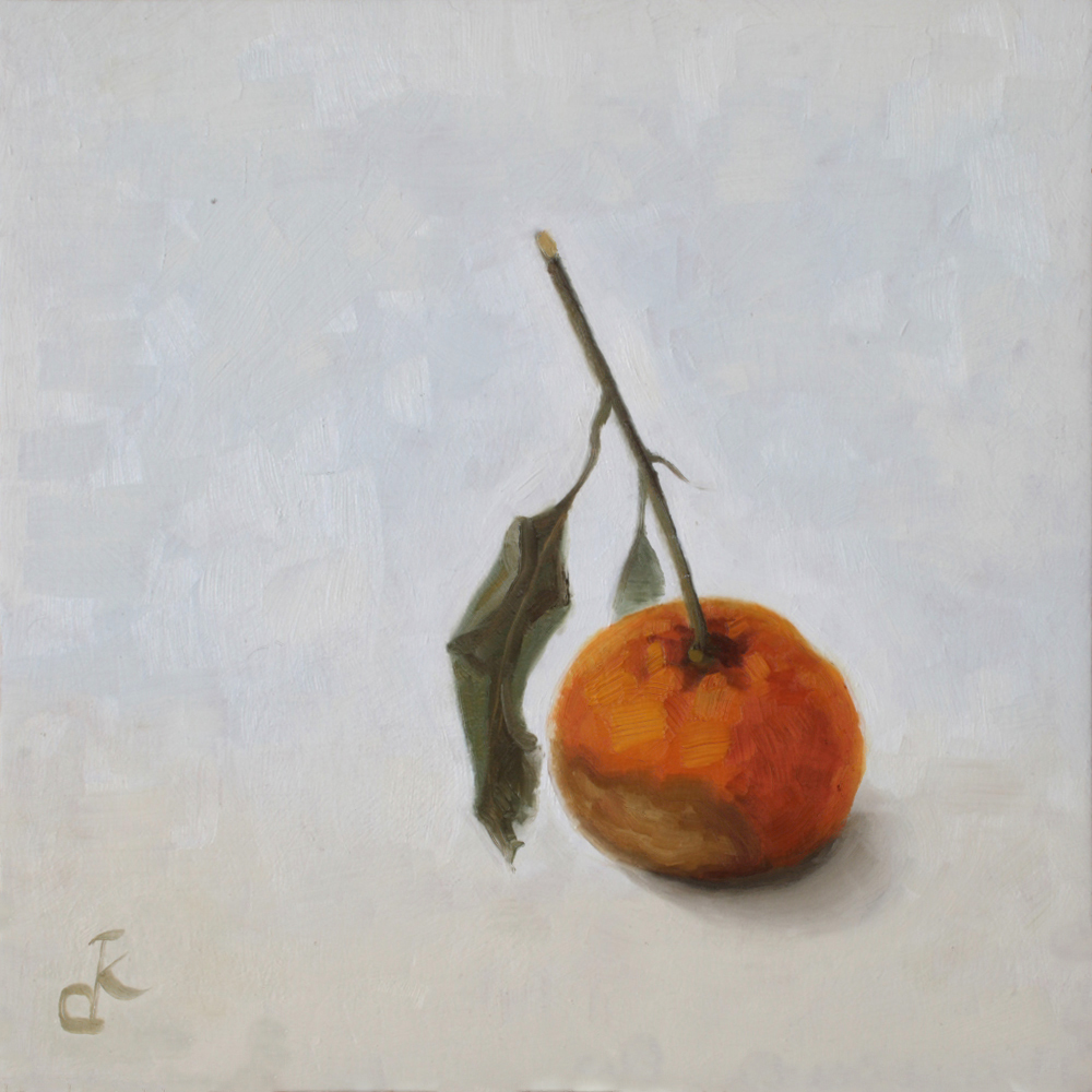 Mandarine oubliée