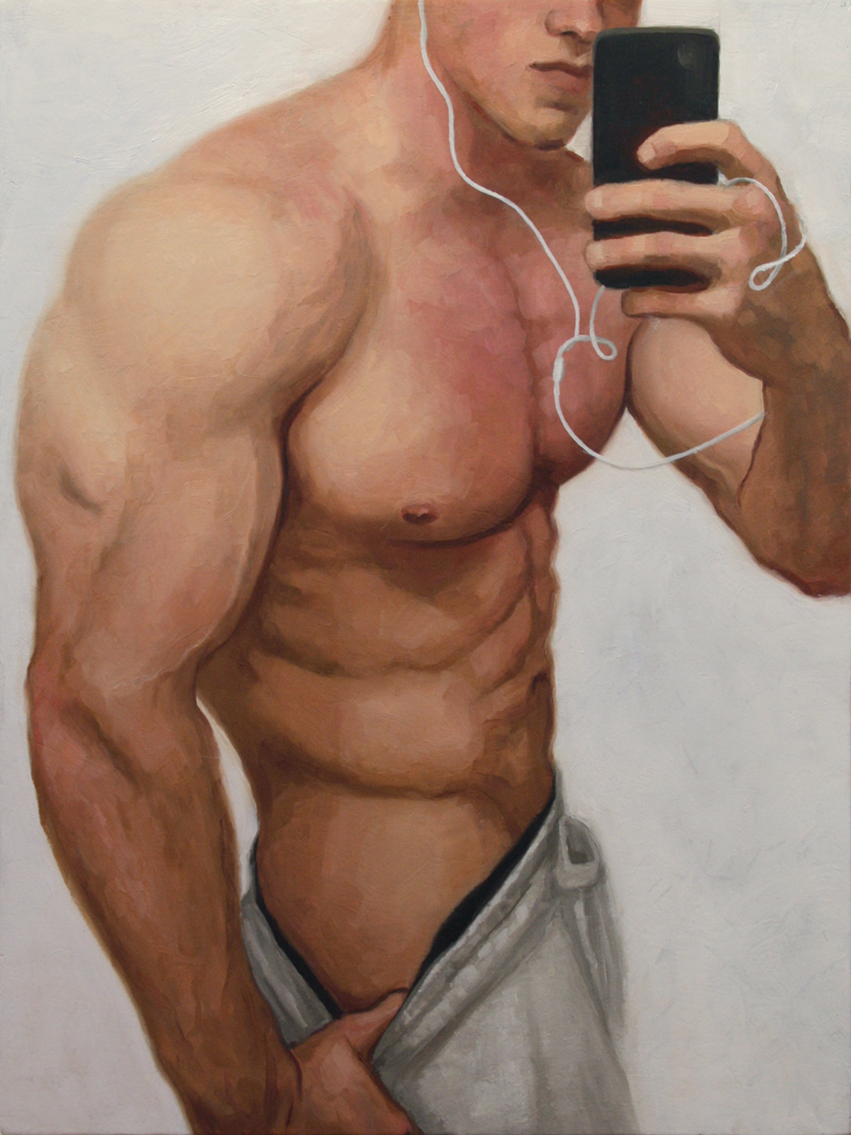 Narcissus (selfie #1)
